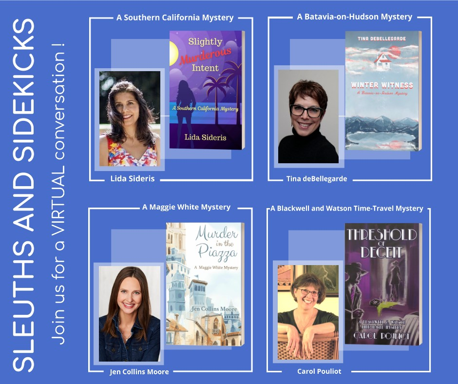 Sleuths & Sidekicks: A Mystery Author Panel
