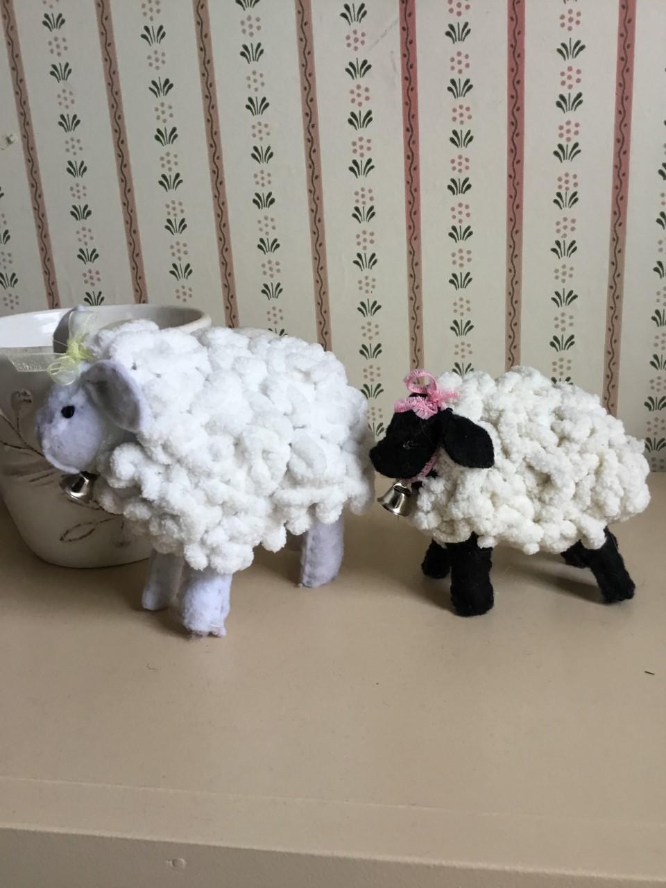 Make a Cute Woolly Stuffed sheep