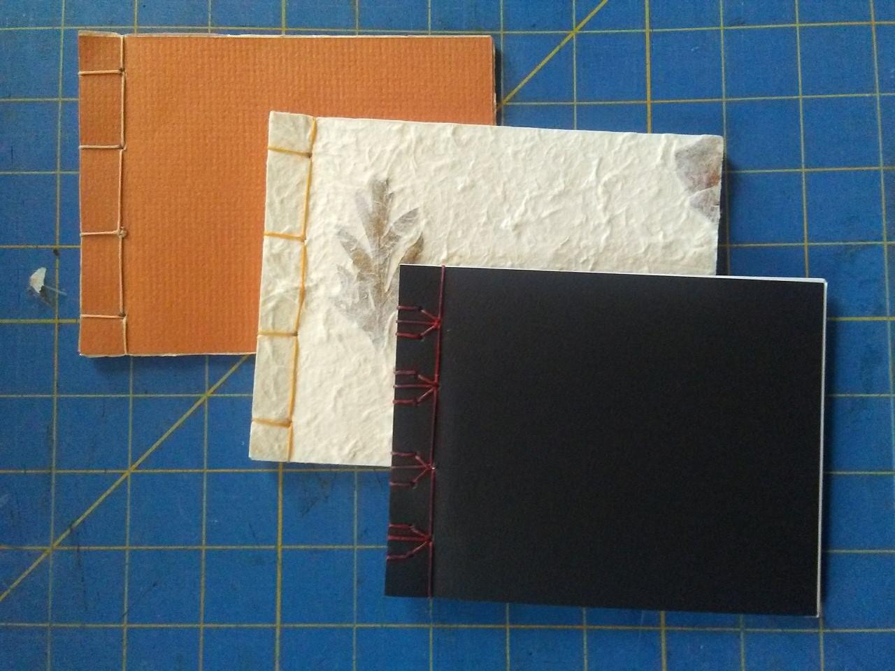 Japanese Stab Book Binding Method