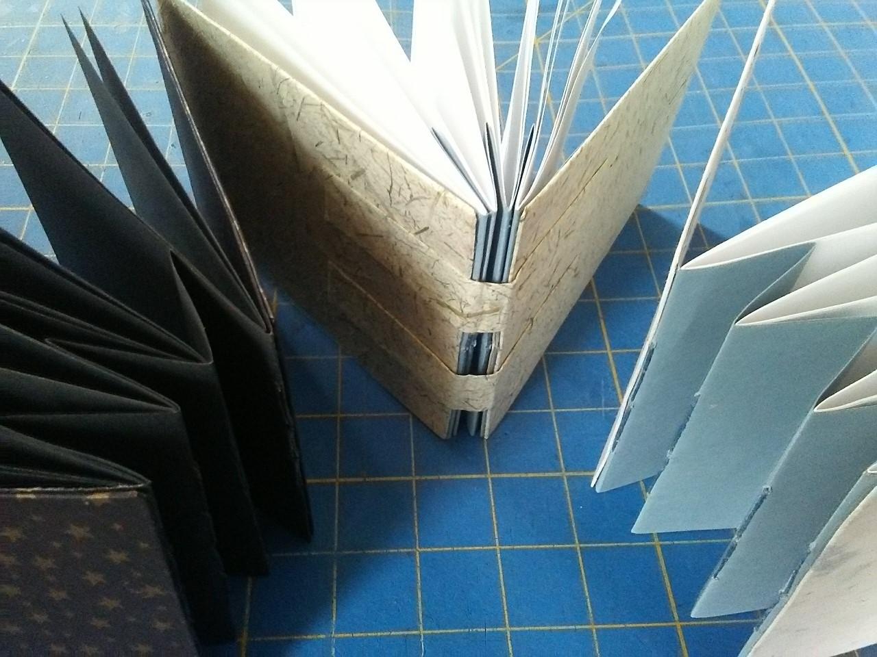 Concertina Book Binding