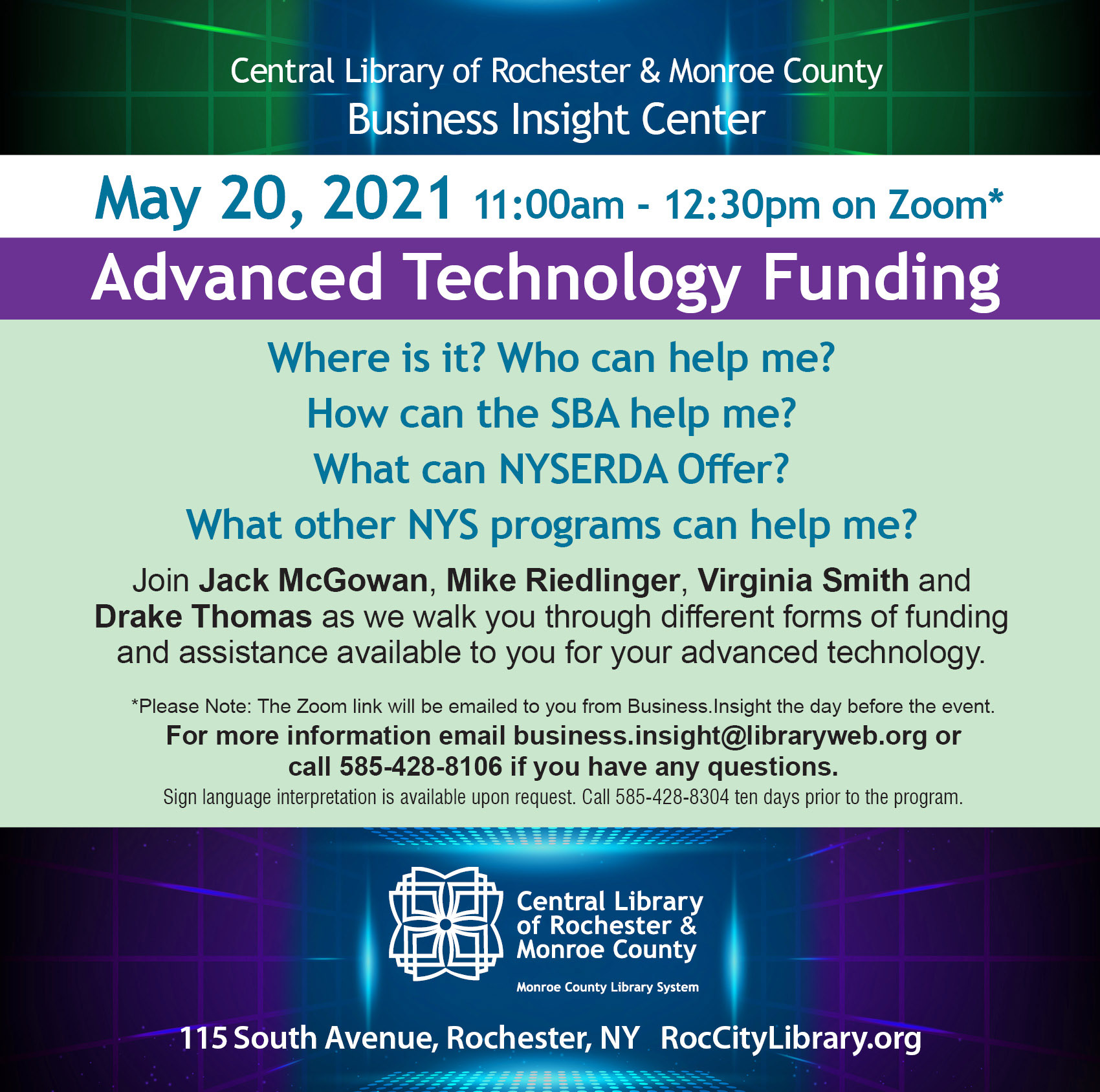 Advanced Technology Funding