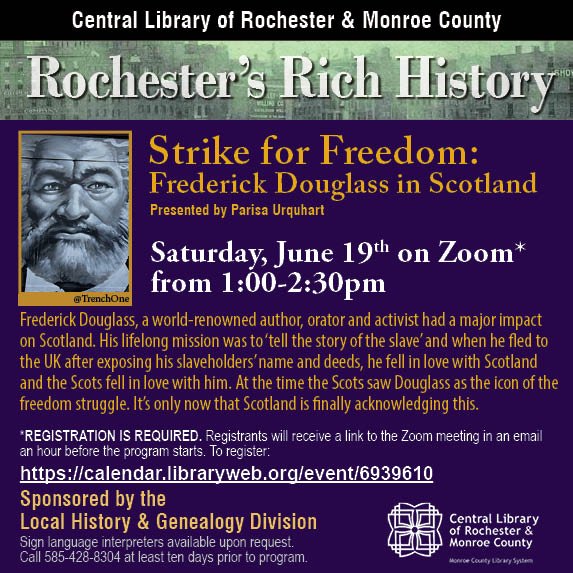 Rochester's Rich History: Strike For Freedom! Film Screening and Discussion with Parisa Urquhart