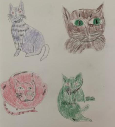 Draw Like Artist Andy Warhol: Draw a Warhol Cat