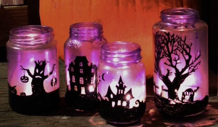 Making Fun Halloween Luminaries