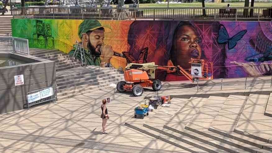 Discussion on Local Rochester Art Murals and Street Art
