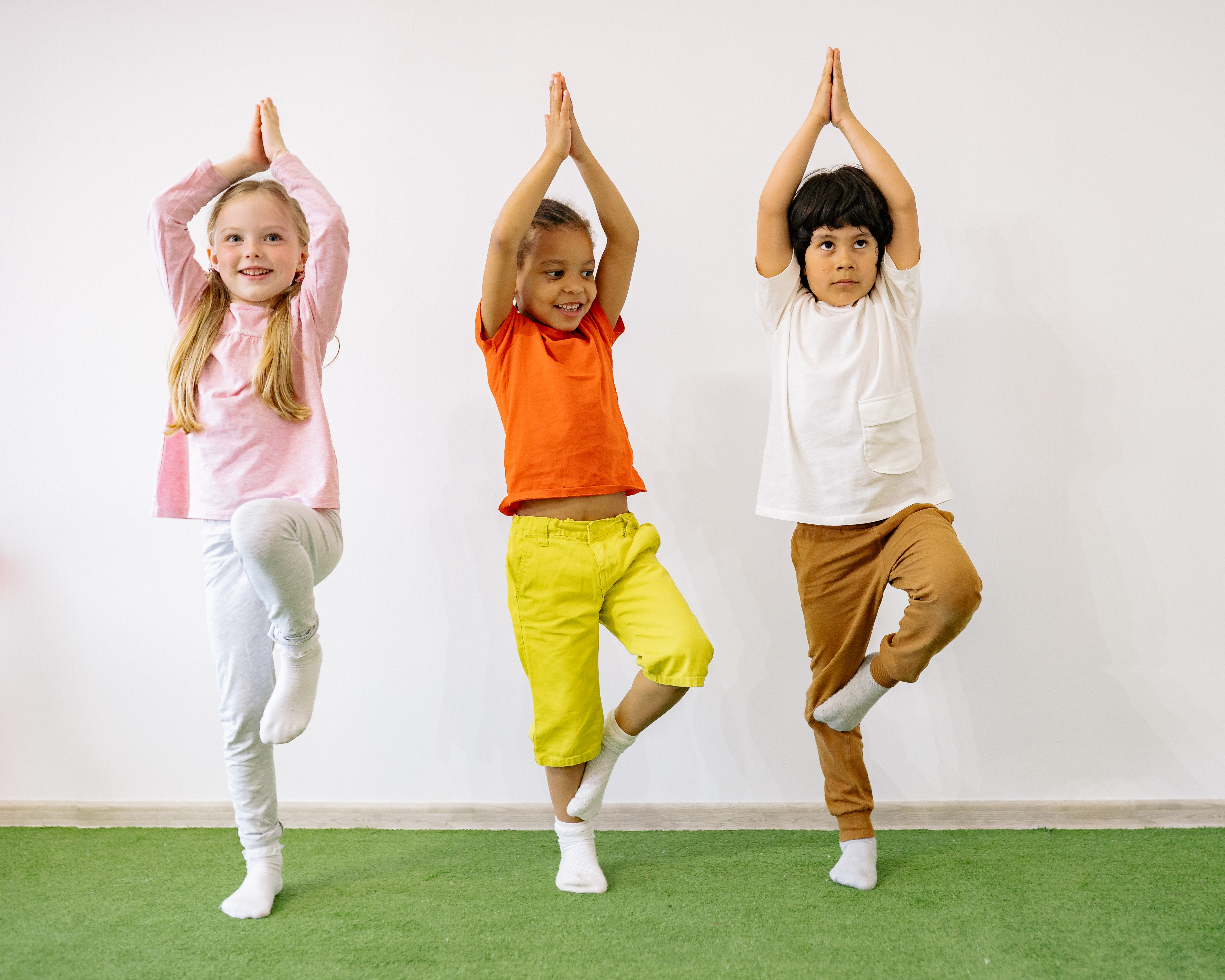 Storytime Yoga at the Central Library!