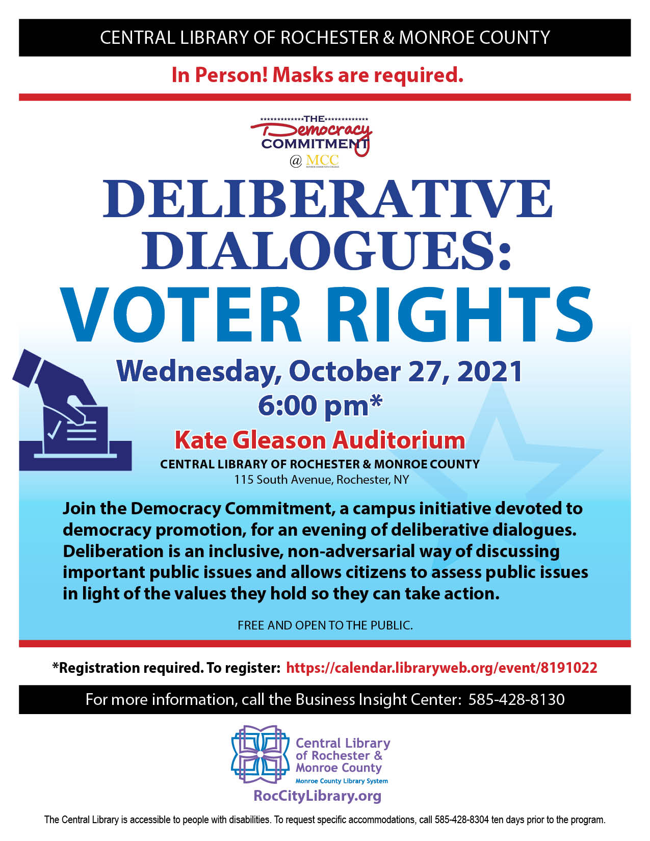 Deliberative Dialogues - Voter Rights