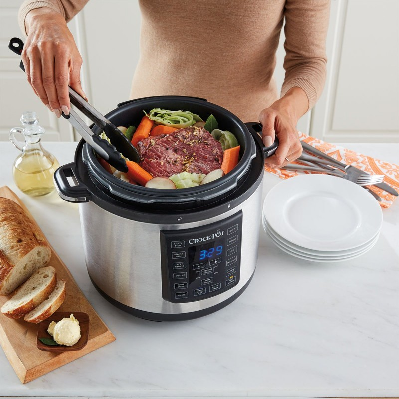 Electric Pressure Cooker Demo and Meal