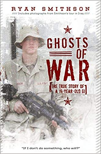 """Author Visit: Ryan Smithson, author of """"The Ghosts of War"""" (One School, One Community, One Book)"""