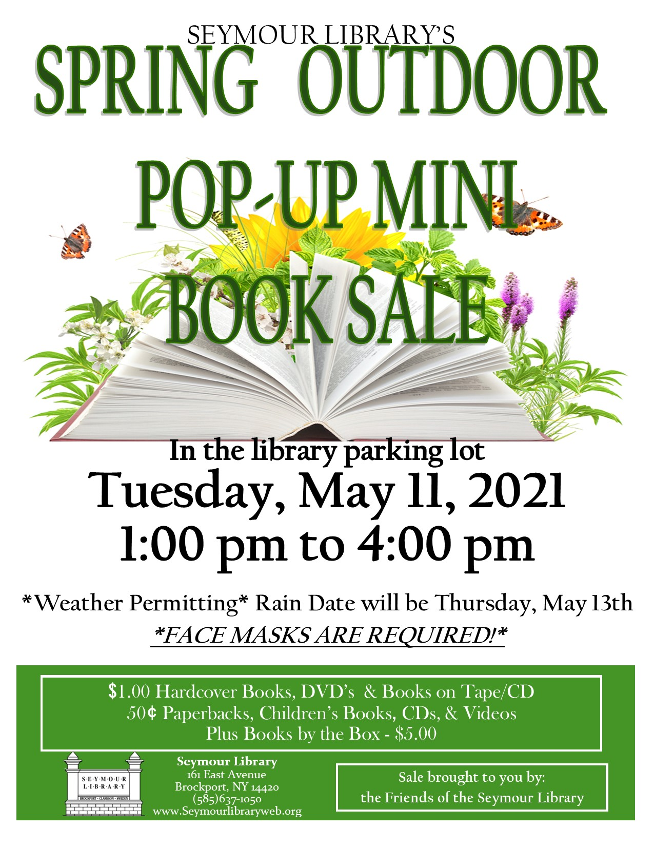SEYMOUR LIBRARY POP-UP BOOK SALE!