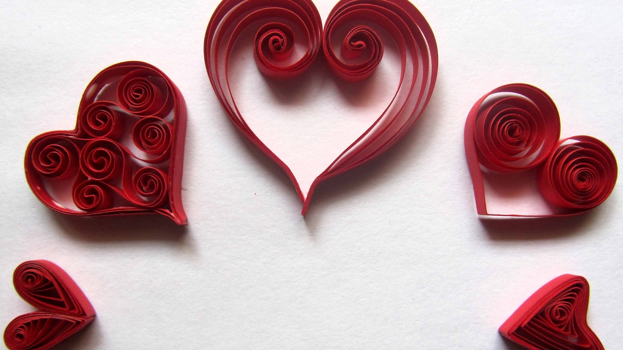 Create Quilled Valentine Cards and Origami Books