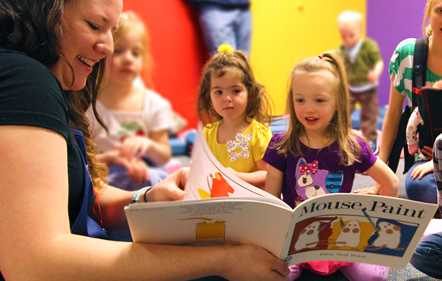 All-Ages Storytime: Sign Language Interpreted