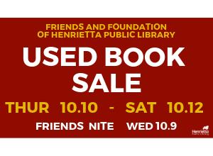 Book Sale at Henrietta Public Library