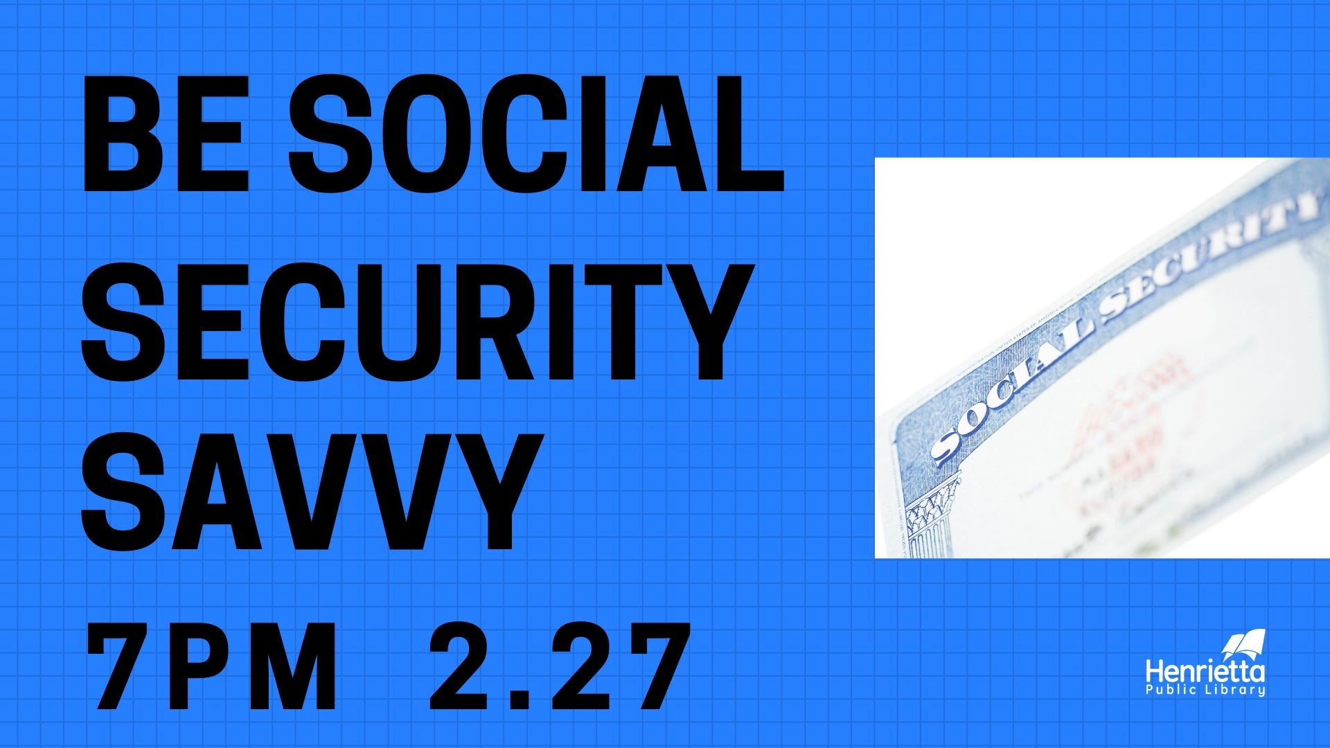 Be Social Security Savvy