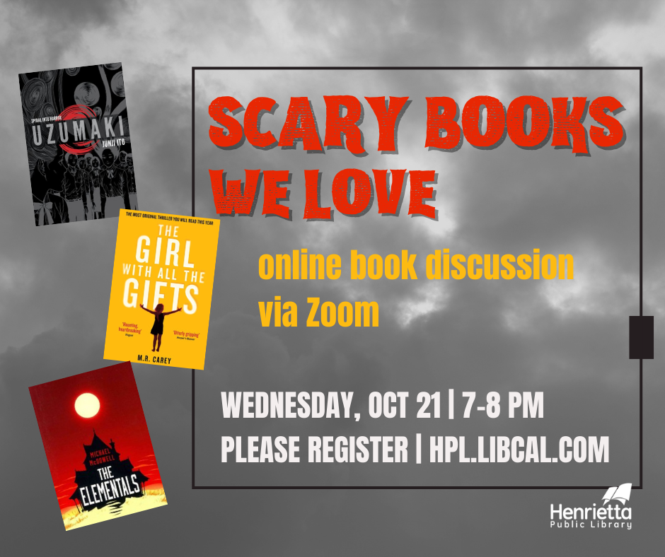 Scary Books We Love