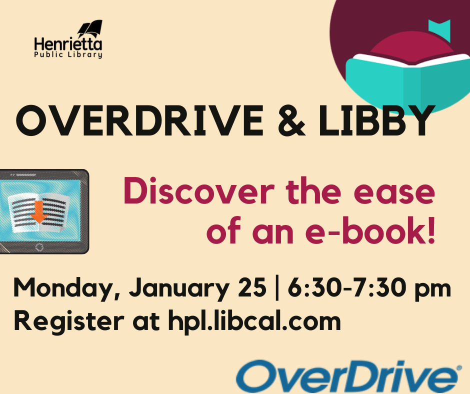 Overdrive and Libby: Discovering the Ease of an E-Book