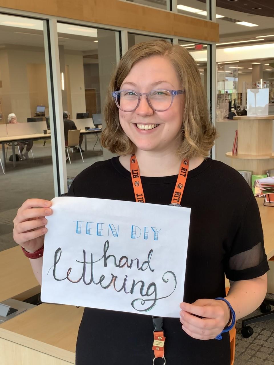 Teen DIY: Hand-Lettering!
