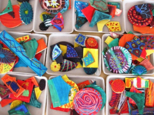 Libraries Rock! SCRAP ART WITH MARY JANE WENNER
