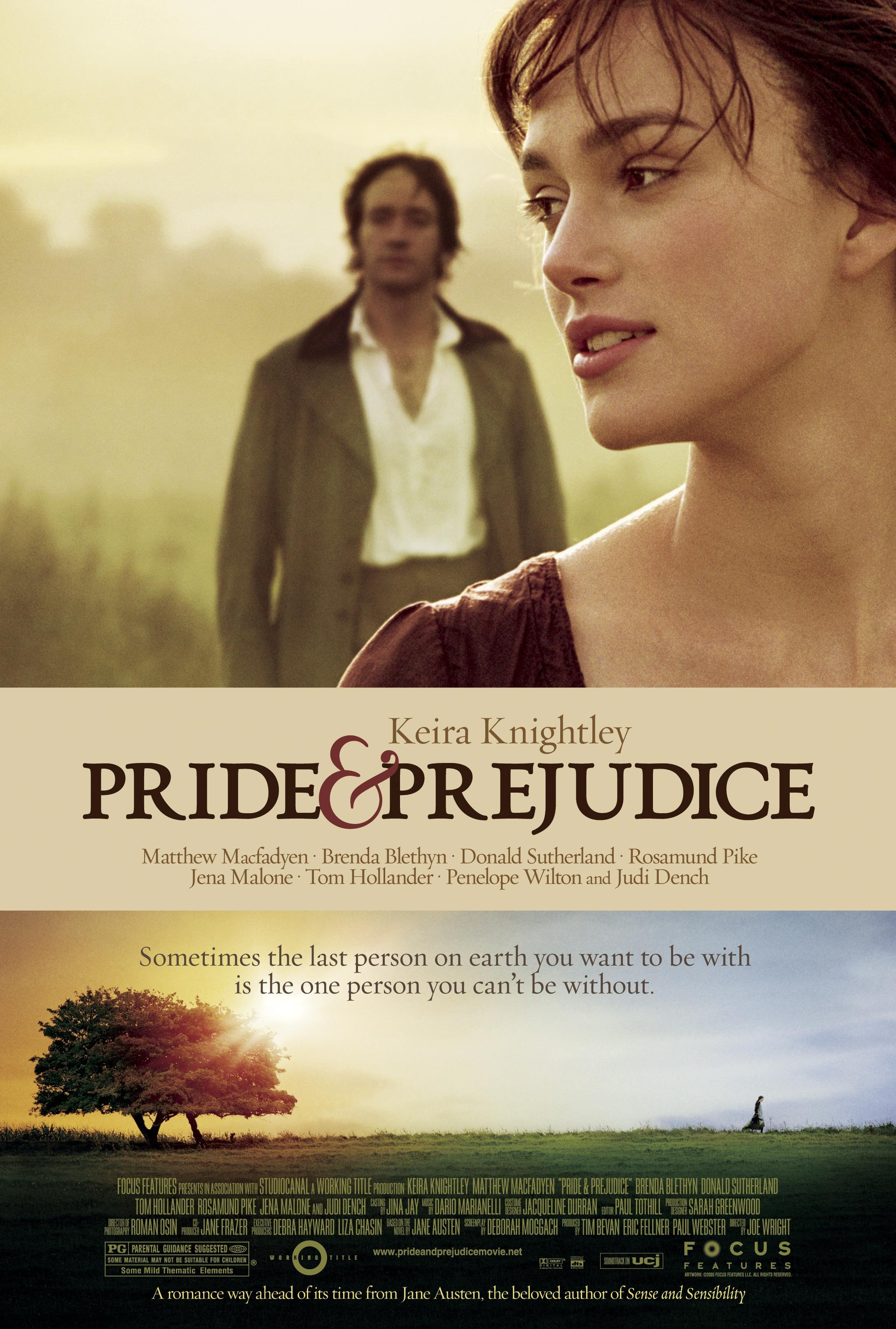 Pride and Prejudice Film Showing