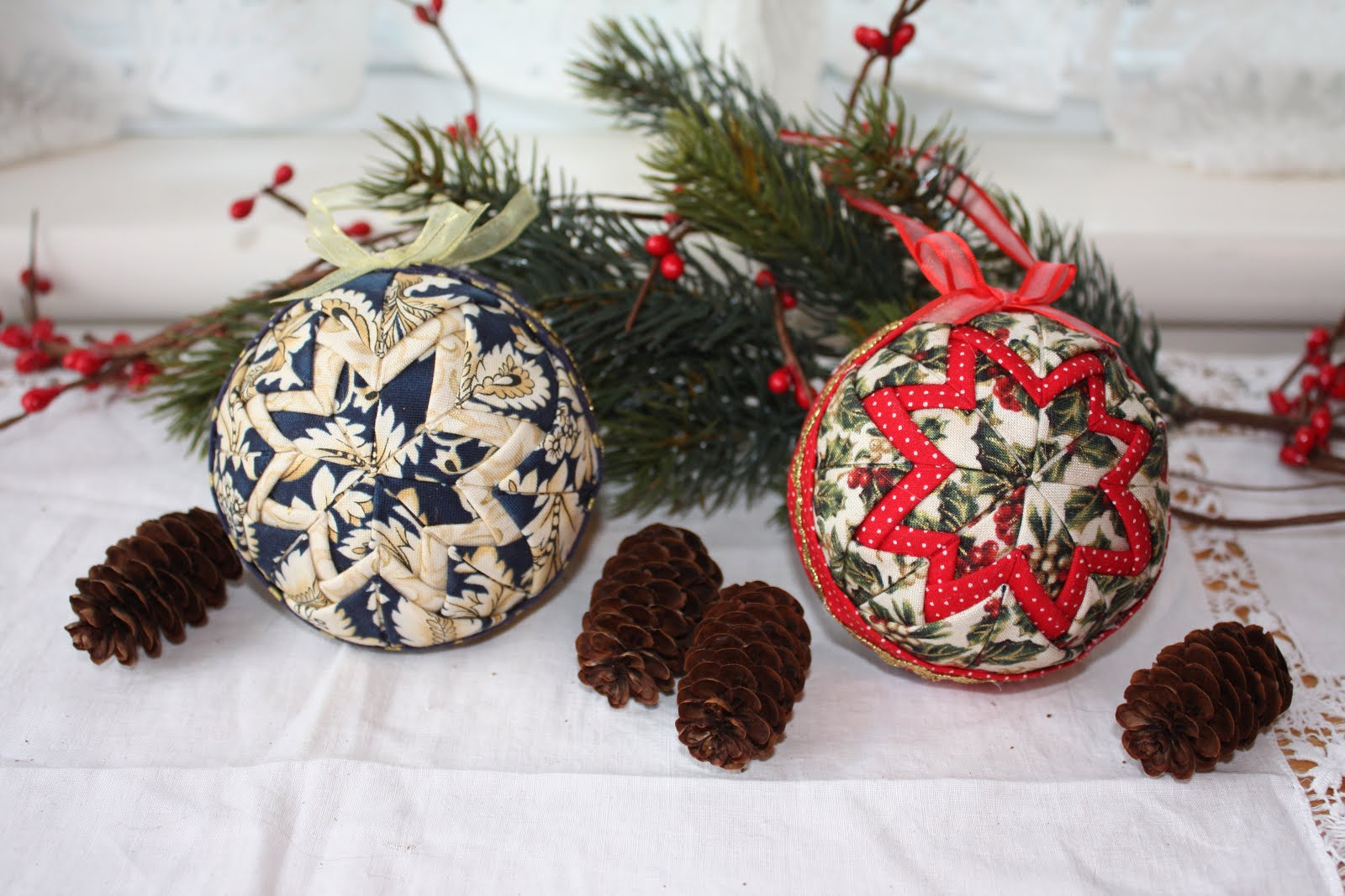 Holiday Craft: No-Sew Quilted Ornaments