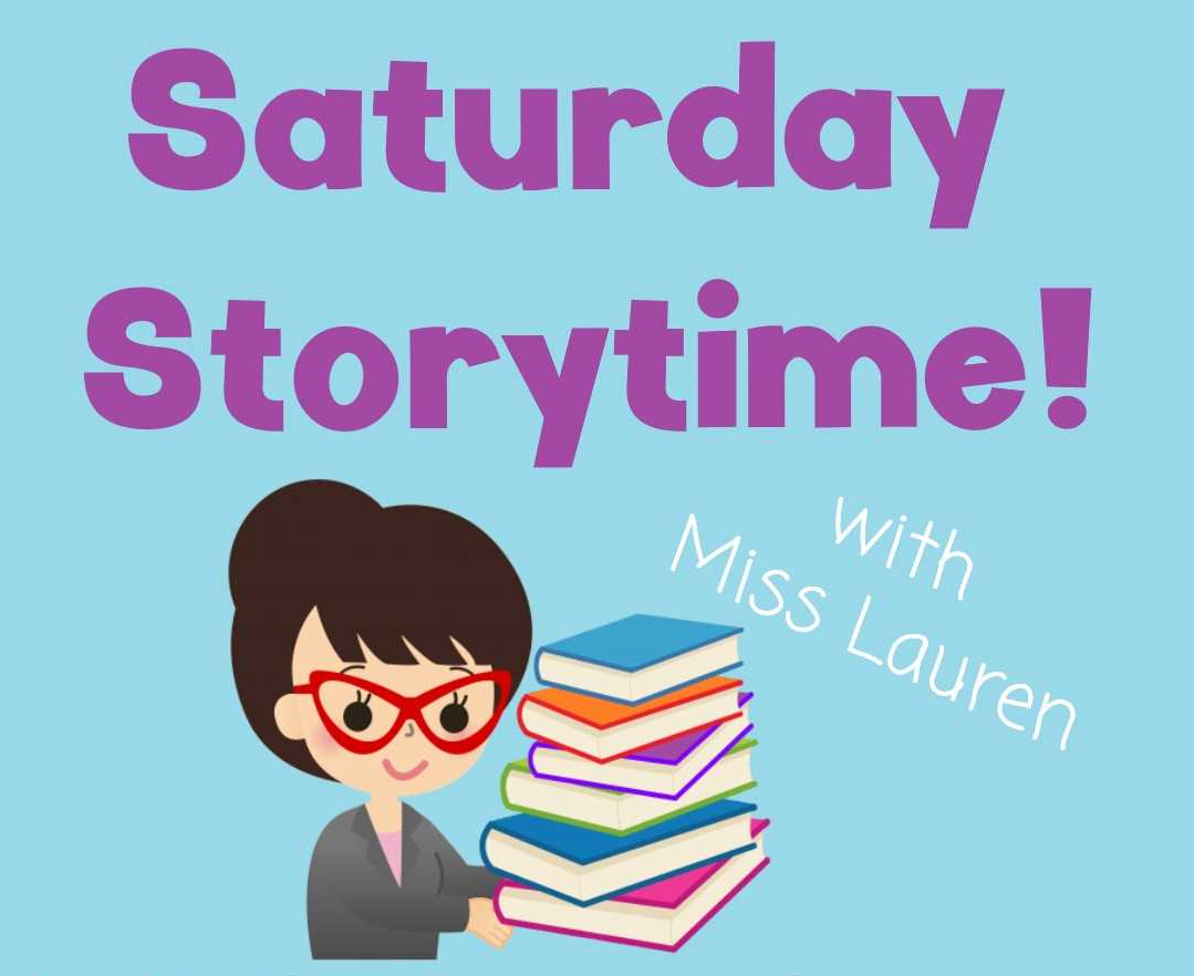 Saturday Story Time with Miss Lauren
