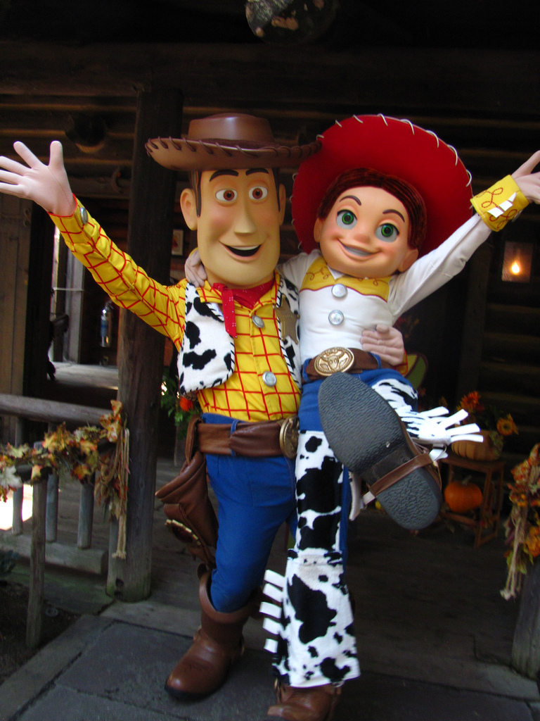 Toy Story's Woody and Jessie Are Coming to the Library!
