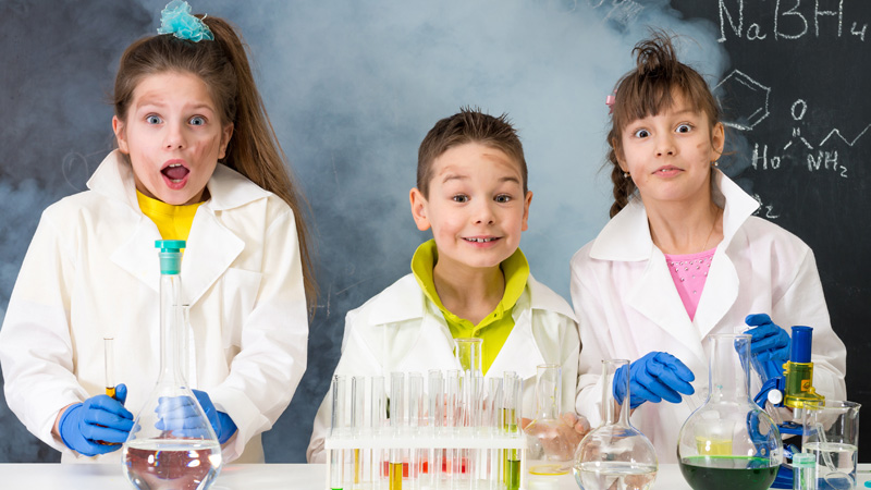 BLAST OFF with Mad Science Class