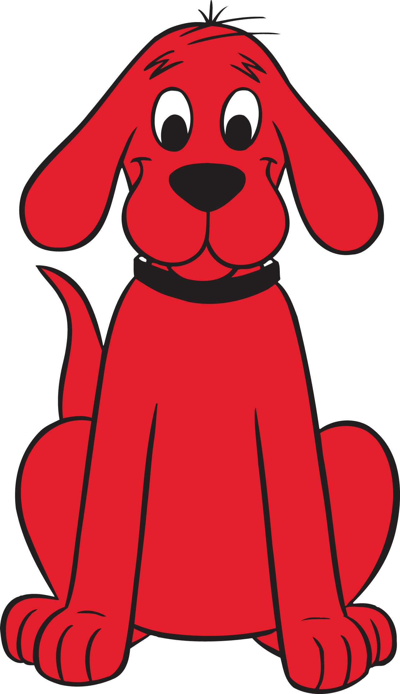 Clifford, the Big Red Dog Craft & Story Time!