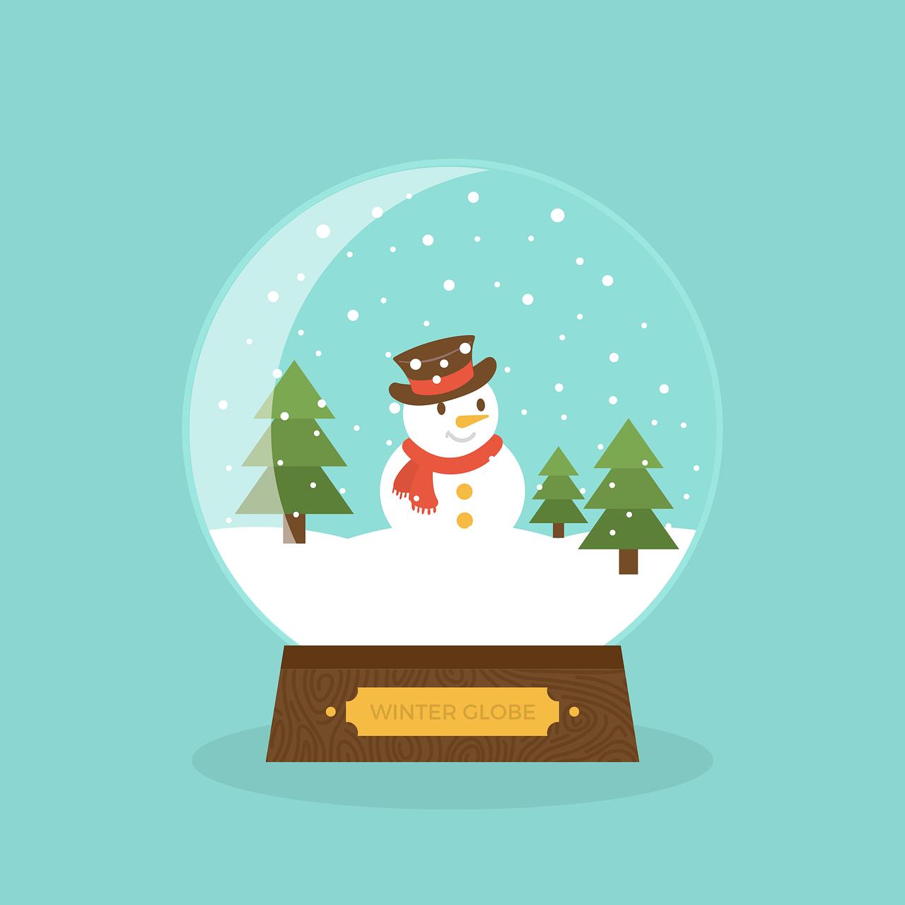 Snow Globe Winter Craft