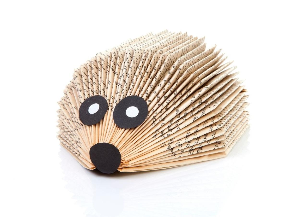 Wednesday Crafternoon: Book Hedgehogs