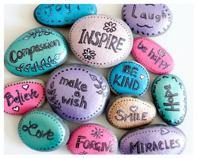 FRIDAY FUNDAYS: Paint Kindness Rocks