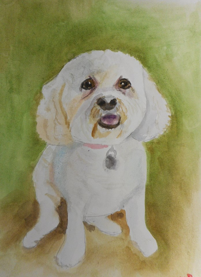 Paint a Portrait of Your Pet!
