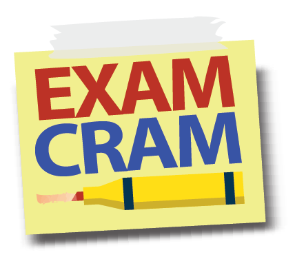 EXAM CRAM WEEKEND