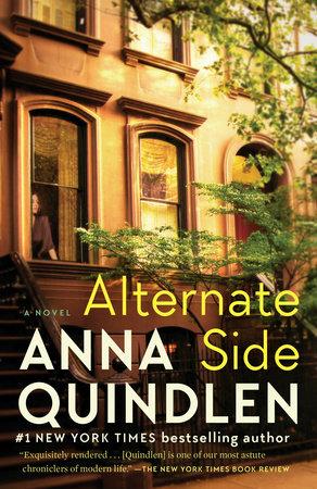 Brighton Book Club: ALTERNATE SIDE, a novel by Anna Quindlen