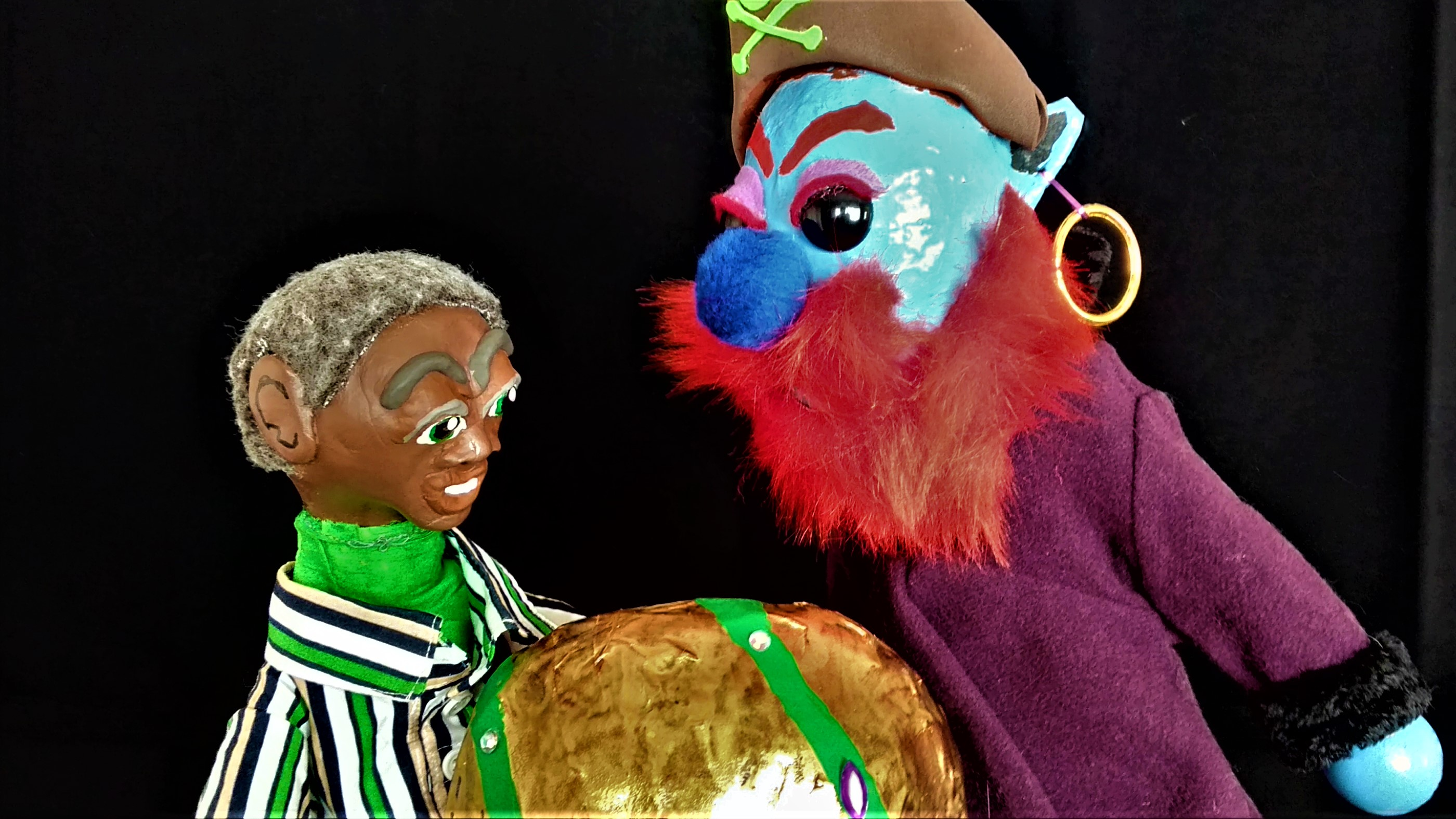 Omnipresent Puppet Theater presents Cosmic Joe and the Star Pirates