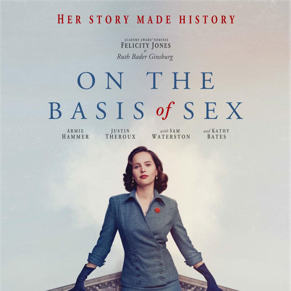 Summer Award-Winning Movie Series: ON THE BASIS OF SEX