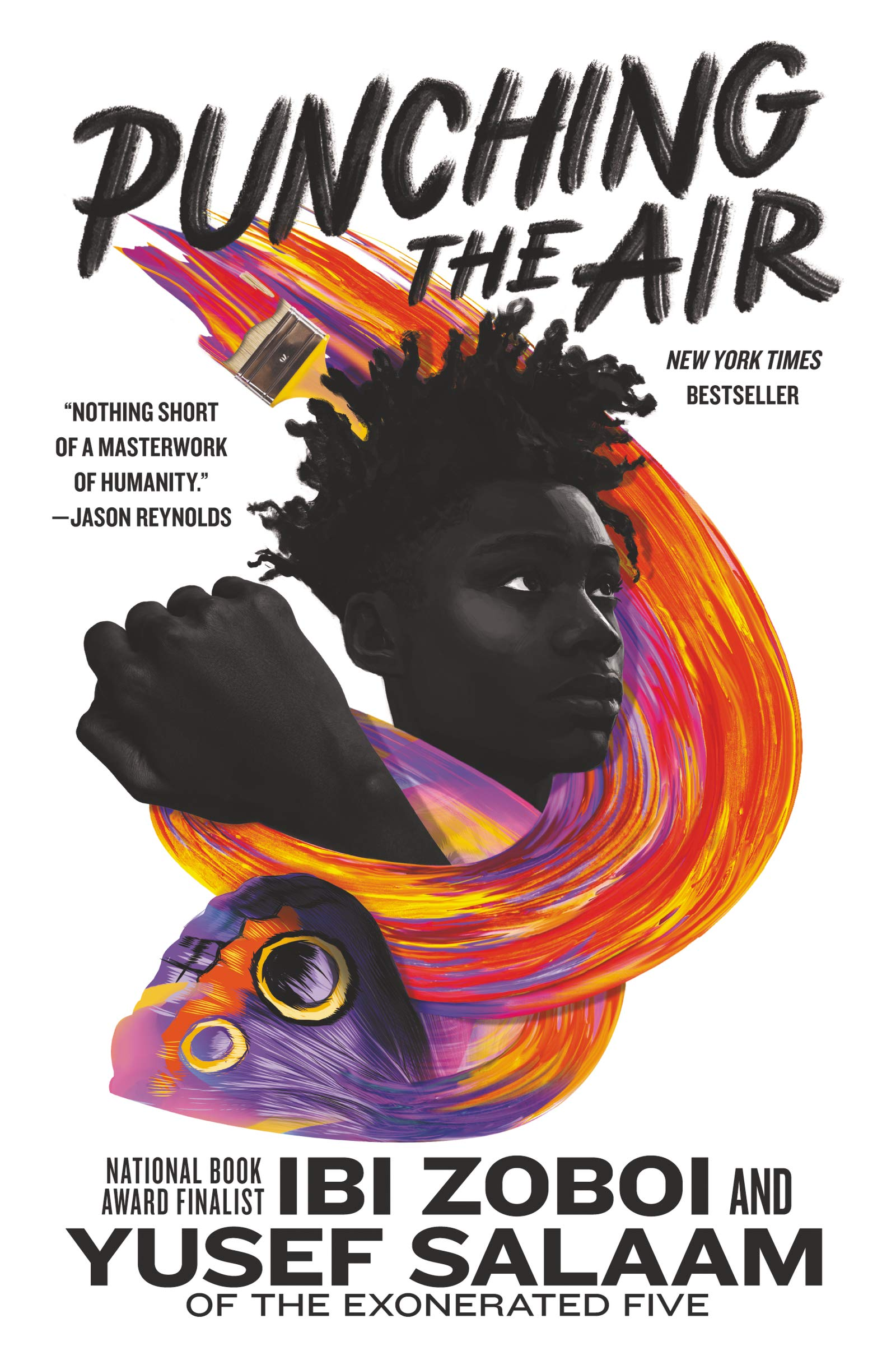 Teen Zoom Book Discussion Group: Punching the Air by Ibi Zoboi and Yusef Salaam