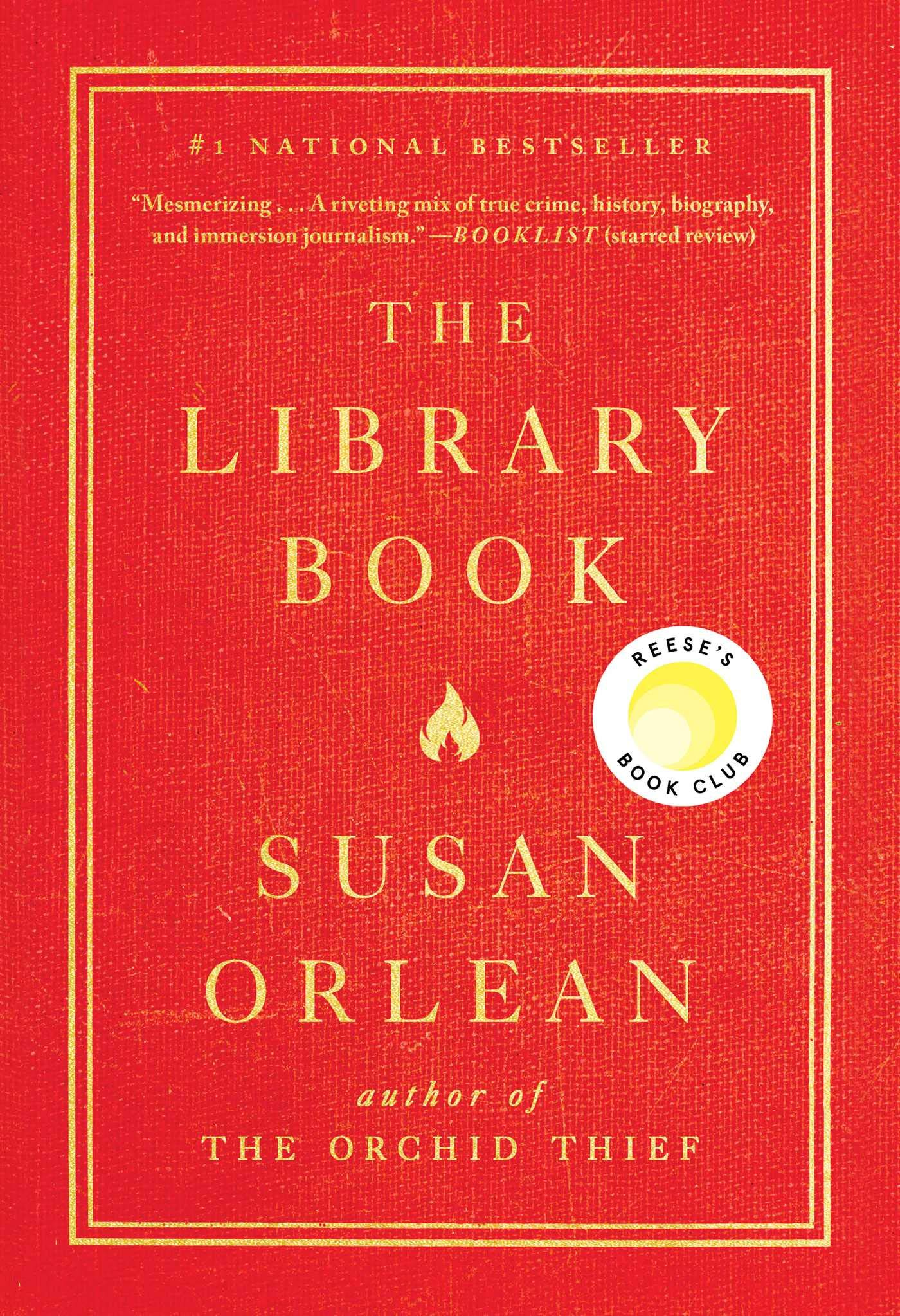 Adult Book Discussion: The Library Book by Susan Orlean