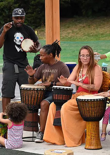 African Drumming with Mayukwa Kashiwa