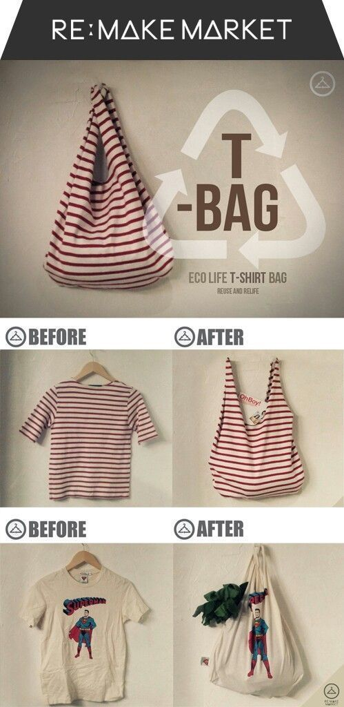 Maker night- Sew a Recycled T-shirt Tote