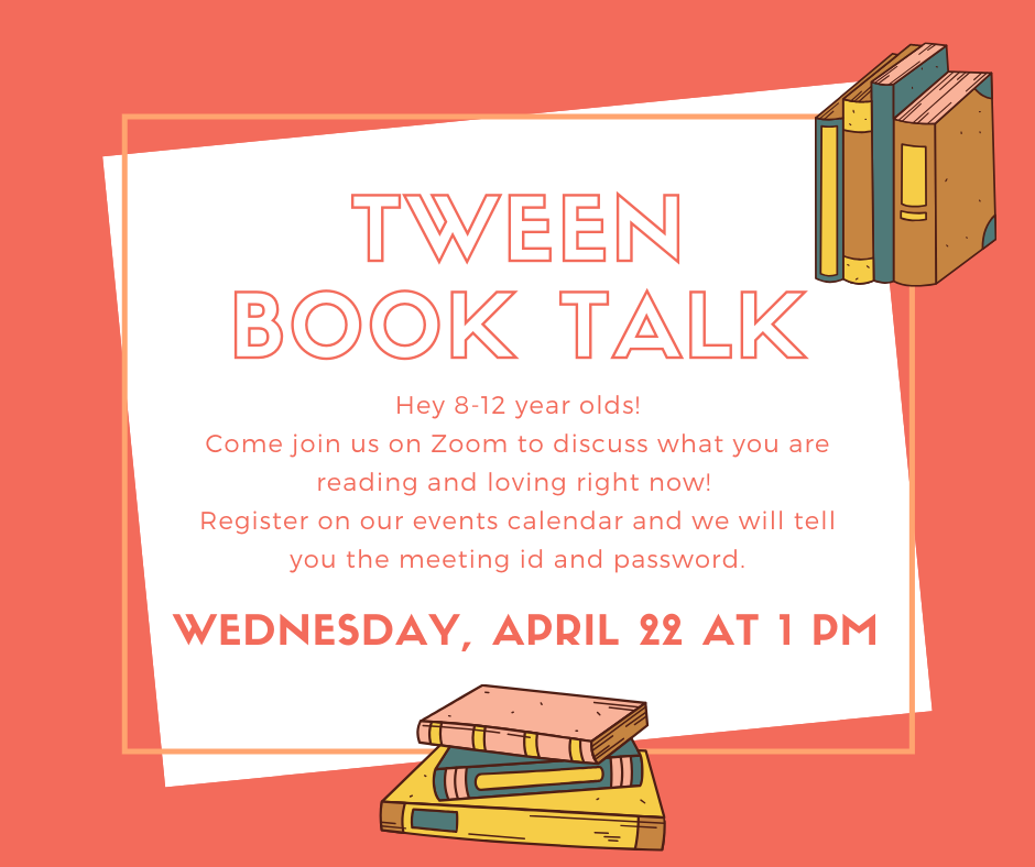 Tween Book Talks with Miss Cathy