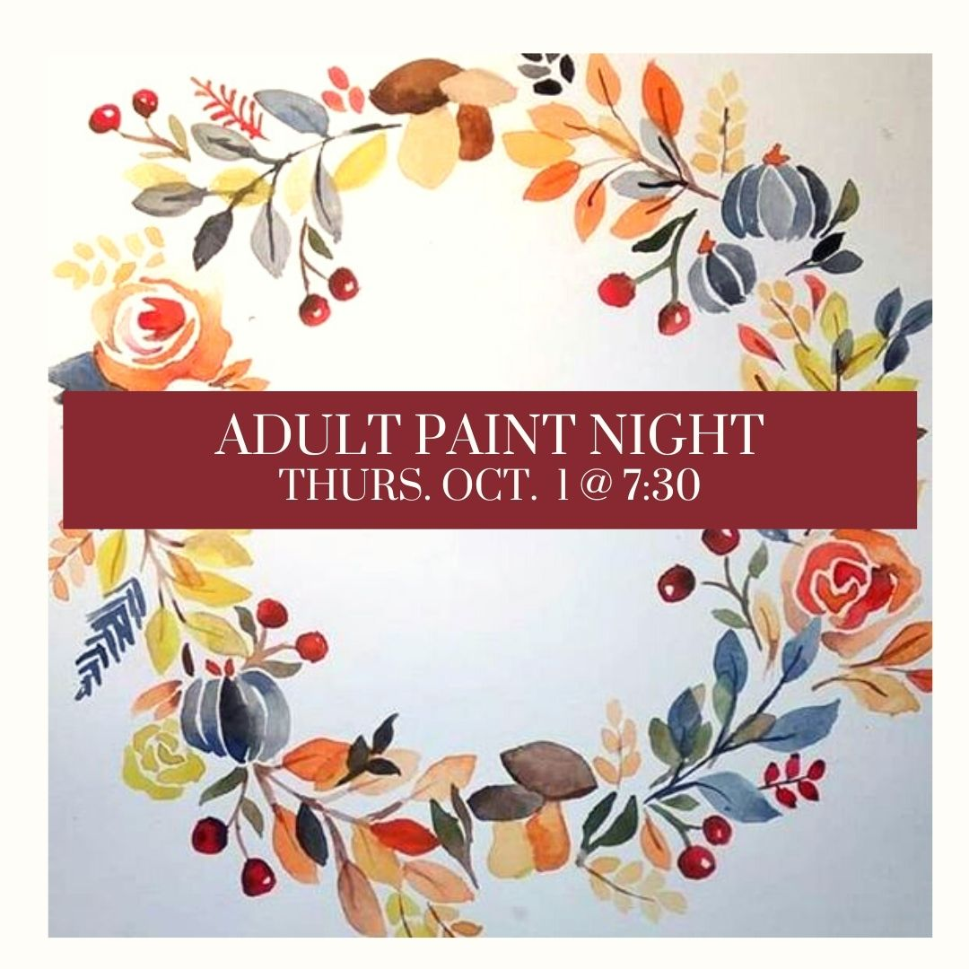 Adult Painting Night