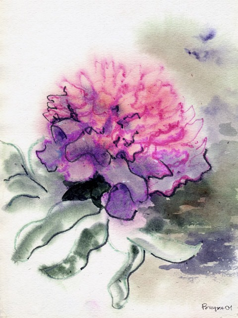 Watercolor Painting Class with Lisa Robinson