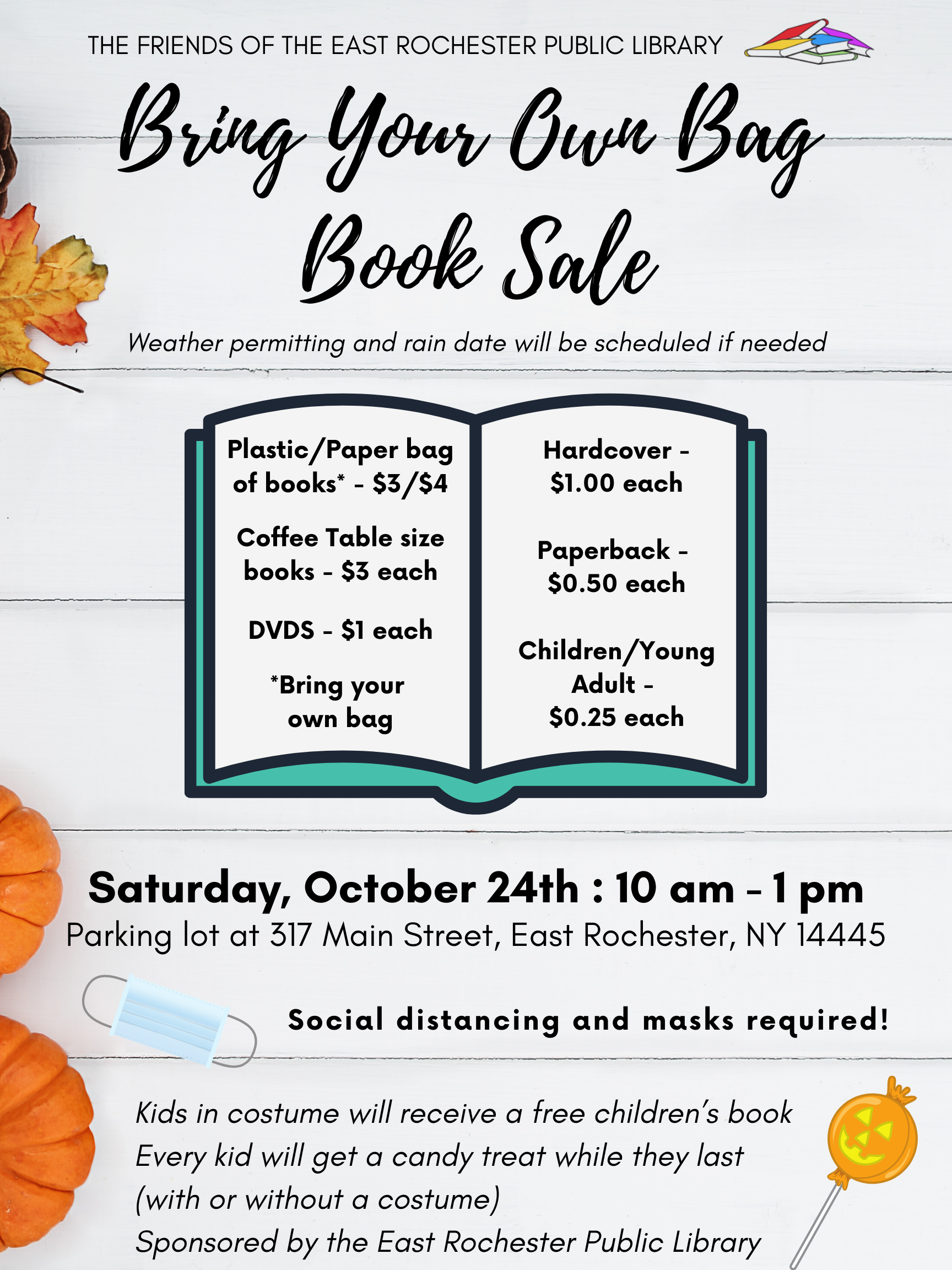 Bring Your Own Bag Book Sale
