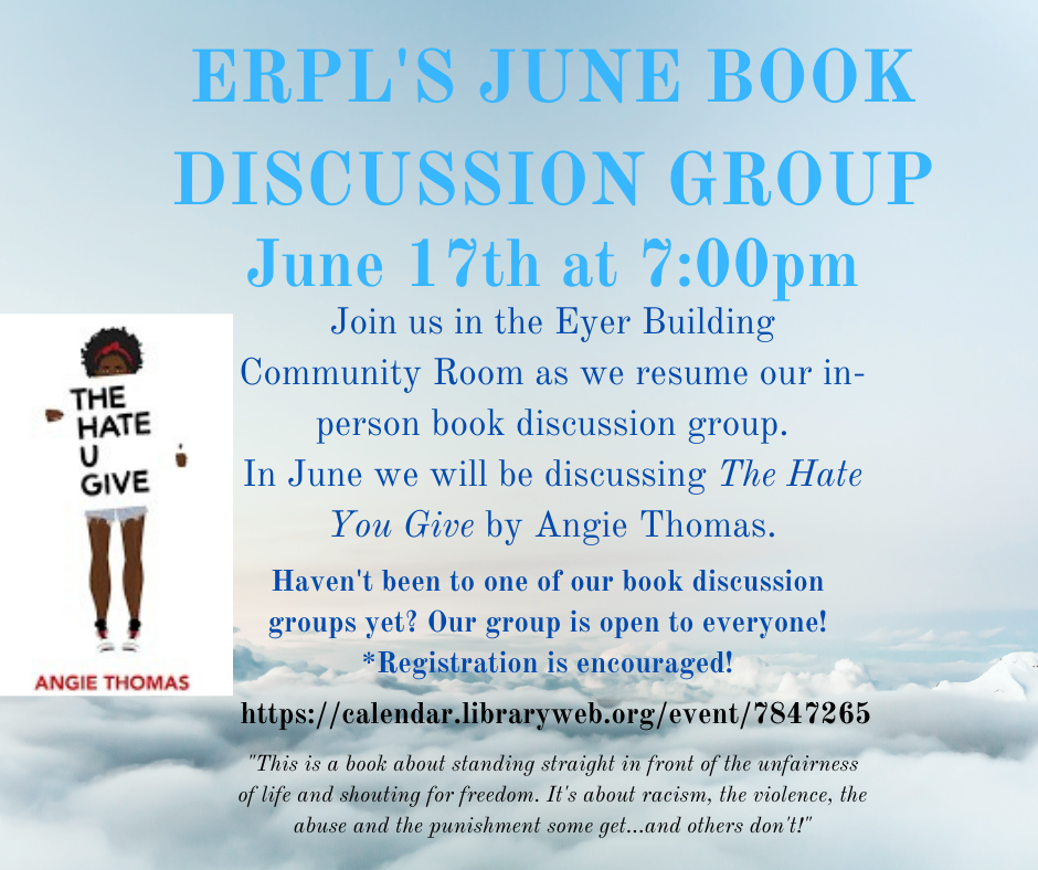 ERPL Book Discussion Group*