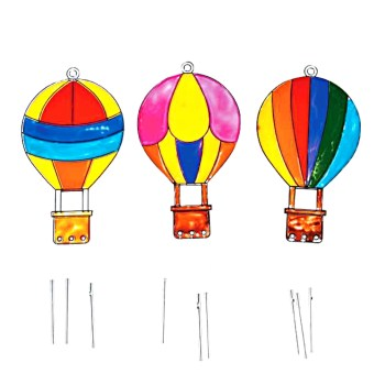 Tween Craft: Hot Air Balloon Wind Chimes