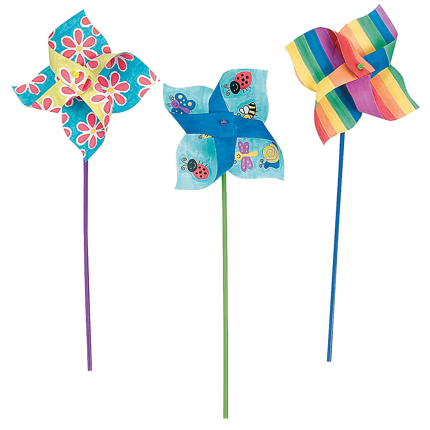 Tween Craft: Pinwheels