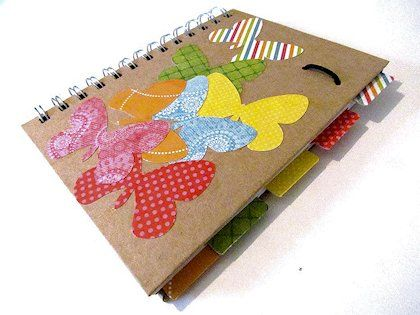 Teen Craft: Decorated Notebooks
