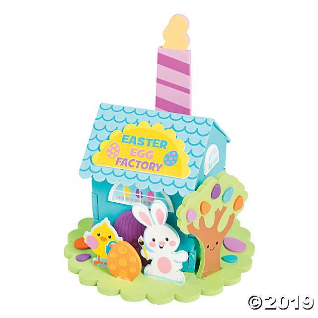 Tween Craft: 3-D Easter Egg Factory