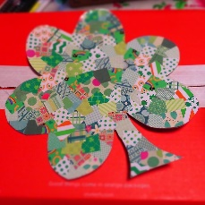 Teen/Tween Monthly Craft -Lucky Mosaic Sign